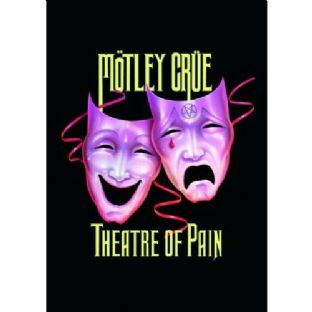 Motley Crue - Greetings Card